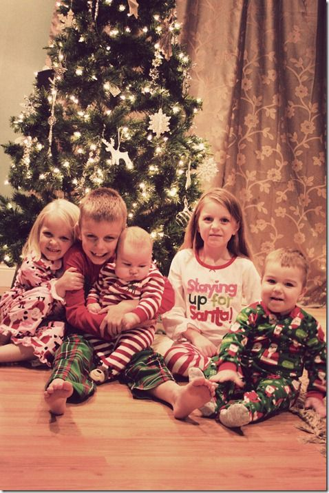 Our Christmas eve tradition is everyone gets christmas pj's, open's their ornaments and we watch a Christmas movie :)