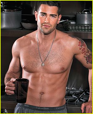 Jesse Metcalfe (Dallas)  He can stand in my kitchen drinking coffee & looking like that any day :-)
