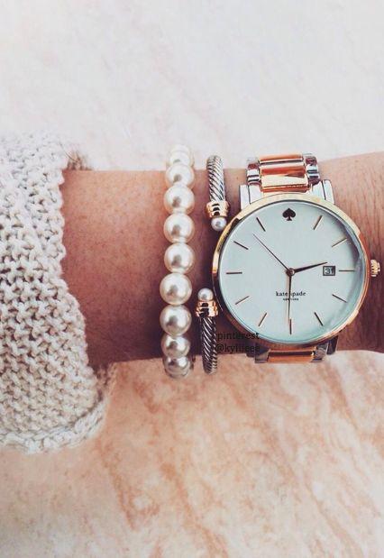 x kate spade watch x ........................... Follow me on instagram @ mirandafriesen