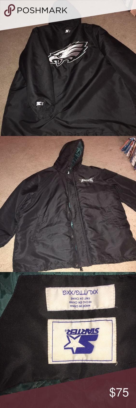 Eagles stadium jacket Starter Eagles stadium jacket. Great condition Starter Jackets & Coats Utility Jackets
