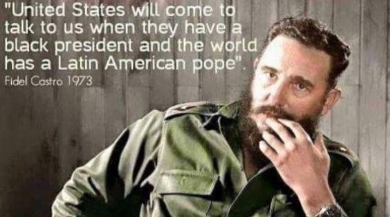 Fidel Castro predicting the moment #SeeCuba #historicmoments #cuban #traveldeeper