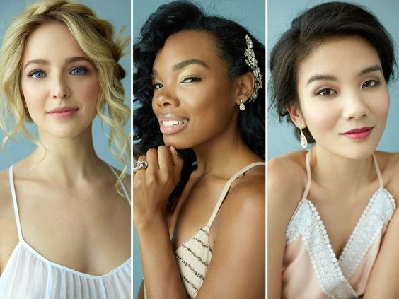 5 Fresh Bridal Hair and Makeup Looks | Photo by: Ari Michelson  | TheKnot.com