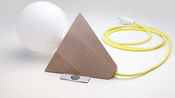 Minimalist Geometric Illuminators - The 'Relight' Light Bulb Lamp Design is Pared-Down and Distinct (GALLERY)