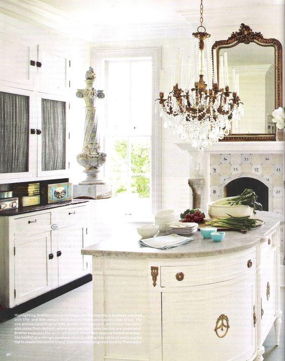 House Tour: Annie Brahler {European Country Decor}. Interior Design by Annie Brahler, photographer - Bjorn Wallander