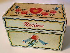 recipe box 1940s - Google Search
