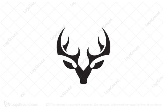 Exclusive Logo 178358 Deer Logo Fancy Logo Logo Deer Wildlife