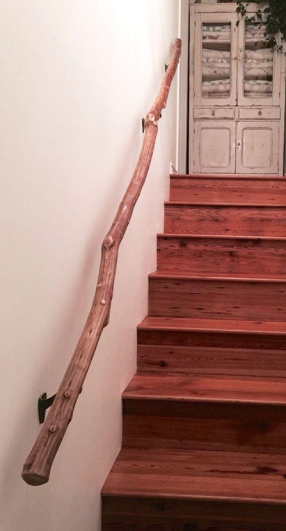 Crape Myrtle stair handrail