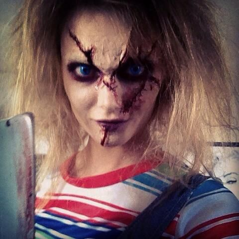 maquillage halloween andy