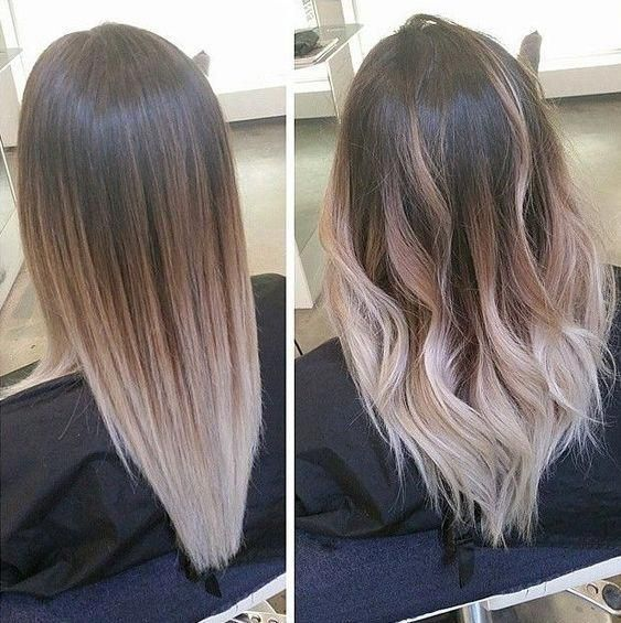 Hair Styles Ideas Illustration Description Ombre Hair Is Still One Of The Hottest Trends From Blonde Omb Balayage Straight Hair Hair Hacks Hair Styles