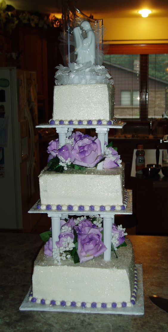 4 tier multi wedding cake stand the world s catalog of ideas 10379