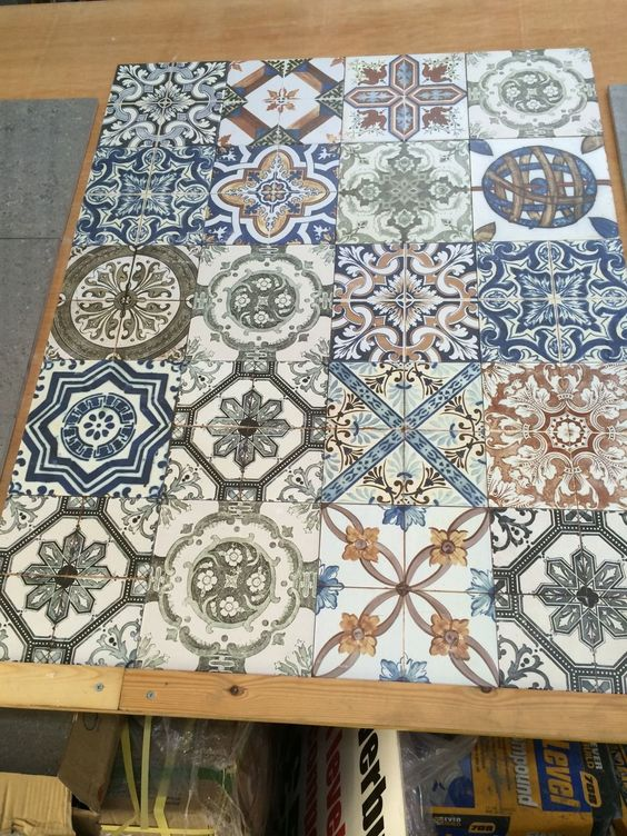 Moroccan Style Vintage Shabby Chic Topps Nikea Wall Floor Tile ...