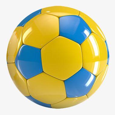 كرة القدم للأطفال الأزرق و الأصفر لعب الاطفال معدات رياضية Png وملف Psd للتحميل مجانا Soccer Kids Clipart Kids Toys