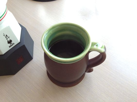 My first cup of the day 2013.05.12