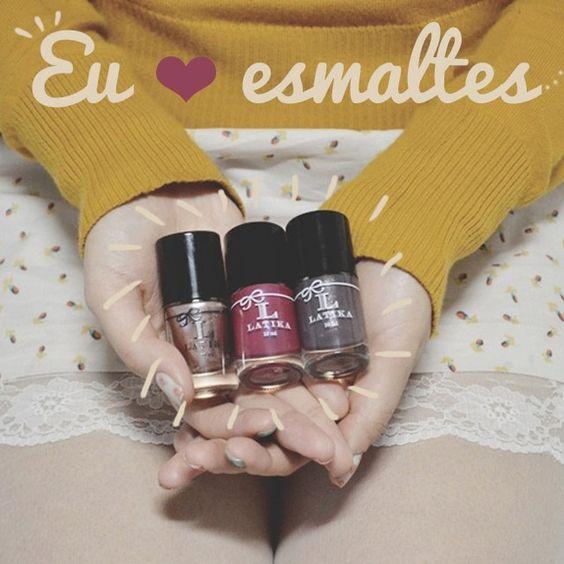 Bom dia <3 Nós da #esmalteriaclub somos apaixonados por esmaltes, assim como você! Vem nos conhecer: www.esmalteriaclub.com.br