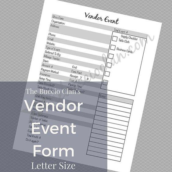 Event Show Application App Form Document Form Craft Vendor
