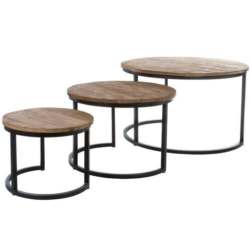 Moon 3 Piece Nest Of Tables My Flair Table Home Decor Furniture