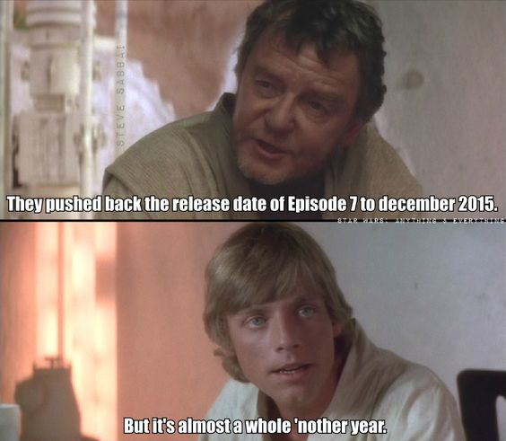 Star wars episode 7 release date in Sydney