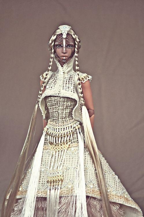 "cholodollcouture:  Commission Ajuma Repaint and Couture ""Majarlika"""