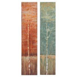 Birch Canvas Print (Set of 2)