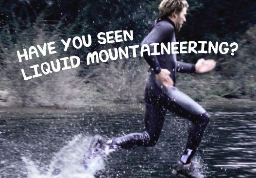 The Liquid Mountaineering viral phenomenon begins, 2010