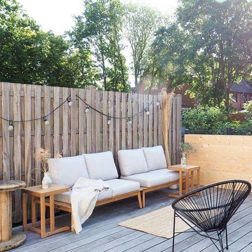 Garten Ideen So Gestaltest Deinen Aussenbereich Sitzlounge Garten Terrassengestaltung Holzterrasse
