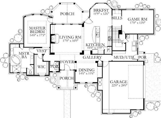 Game Room/MasterSuite/Mud Room/Kitchen