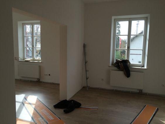 Ersten Zimmer werden fertig