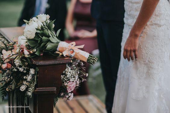 Buquê. Casamento Rom