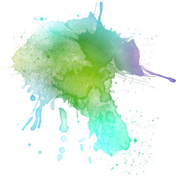 Teal green scribble teal doodles polyvore green purple tile watercolor