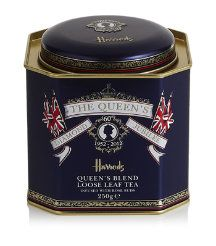 Harrods, London, England--specifically the food department for the Queen's Diamond Jubilee souvenirs.  :-)