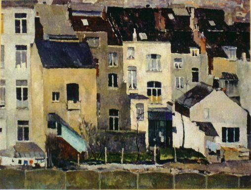Rémy Célis - Vieilles Maisons à Bruxelles