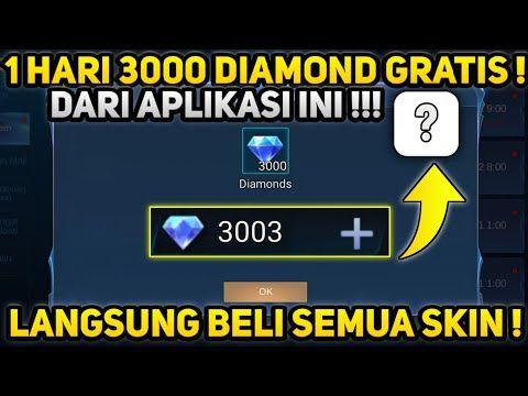 Aplikasi Penghasil 3000 Diamond Mobile Legends Gratis Youtube In 2020