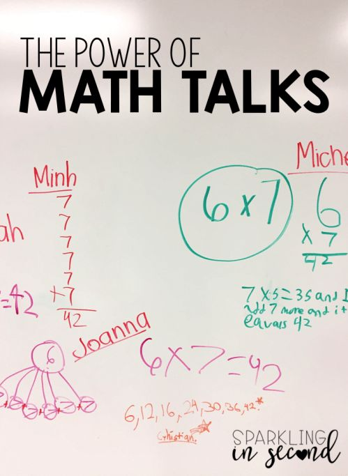 Math talks are powerful in enhancing student thinking for problem solving. It also helps teachers analyze their students' thinking for better instruction.