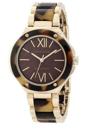 Elegant Anne Klein Tortoise Watch #tortoise watch, #Anne Klein Watch