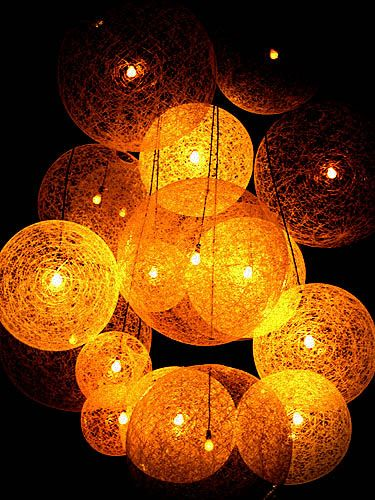 Balloon String Lights Diy : Blogs & Sites Gardens, Outdoor parties and String lights
