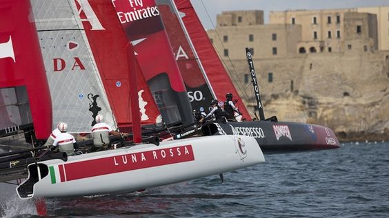 America's Cup World Series, Naples, Italy