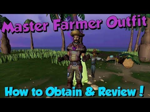 New Master Farmer Outfit Runescape 3 Review How To Get Farmer Outfit Farm Clothes Farmer Costume