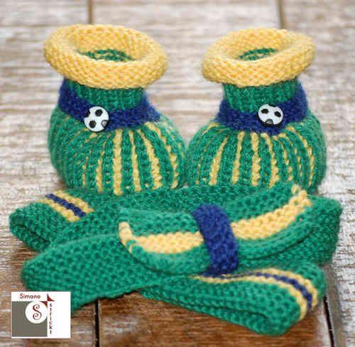 """Babyset """"Fußball"""" BRASILIEN"""