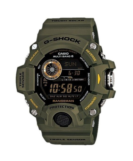 Casio G-Shock Rangeman Multi-Band Atomic GW-9400-3 Men's Watch