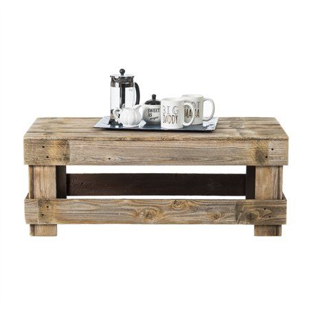Home In 2020 Barnwood Coffee Table Coffee Table Walmart Barn Wood