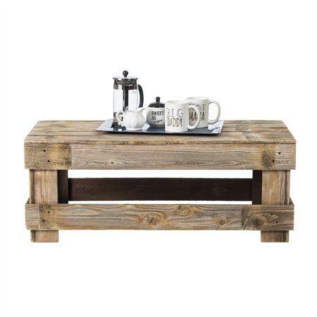 Home In 2020 Barnwood Coffee Table Coffee Table Walmart Barn Wood