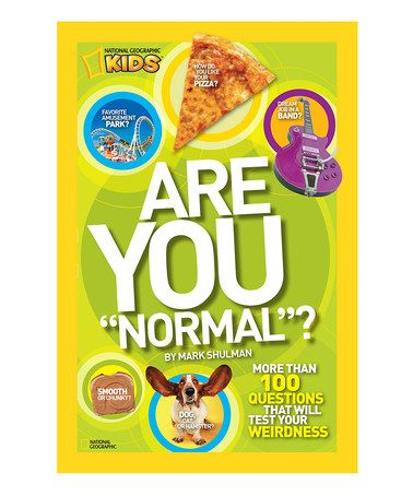 This Are You Normal? Paperback is perfect! #zulilyfinds