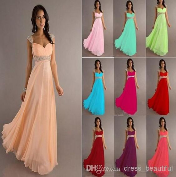 Wholesale Bridesmaid Dress - Buy Cheap A-line Empire Chiffon ...