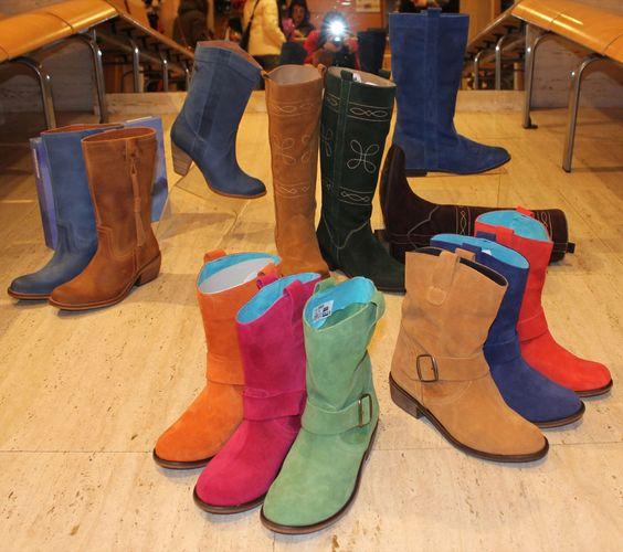 Calzados NIZA y ZAS Shoes: ¡¡Botas de Colores!!