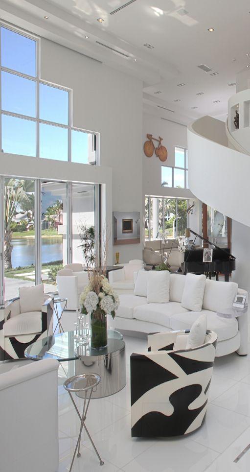 Como Decorar Una Sala En Color Blanco Decoracion Para Muebles Color Blanco Image Como Decorar La Sala Decoracion De Interiores Decoracion De Interiores Salas