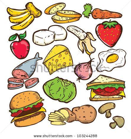 healthy food clip art how to make vitamins work myherbalmart com rh pinterest com healthy food clipart free healthy food clipart free