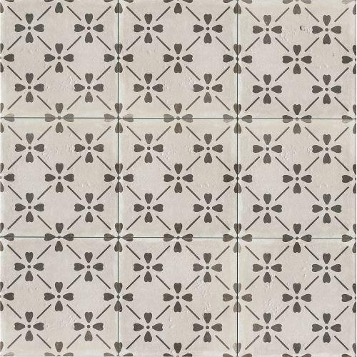 Palazzo 12 X 12 Decorative Tile In Castle Graphite Bloom Encaustic Tile Decorative Tile Palazzo