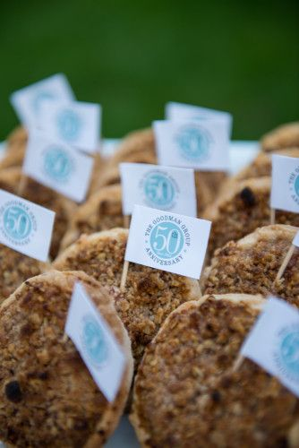 Gone Country Celebration  | White Peacock Events | @whitepeacockstyle | Bryan Jonathan Weddings :: Cookie Sign Flags