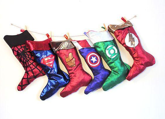 Amazon.com: Marvel Thor Christmas Stocking 17 Inch: Home ... |Marvel Stockings