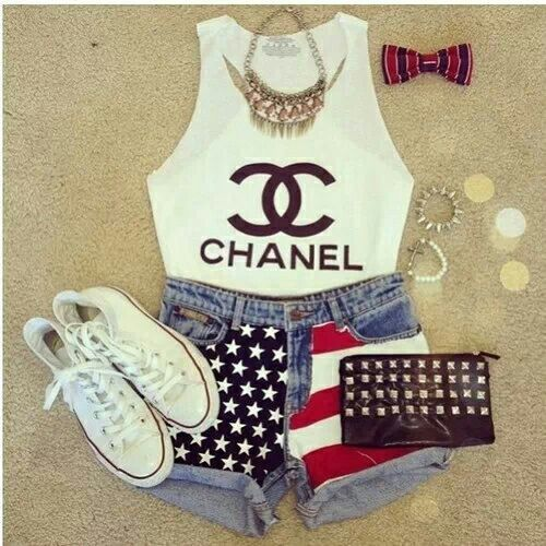 Its a very casual outfit a good idea for a little party!!!